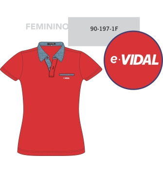 Polo MC Feminina E-Vidal